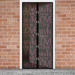Szúnyogháló függöny ajtóra LOVE