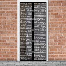 Szúnyogháló függöny ajtóra feliratos