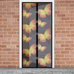 Szúnyogháló függöny ajtóra pillangós
