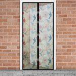 Szúnyogháló függöny ajtóra madaras